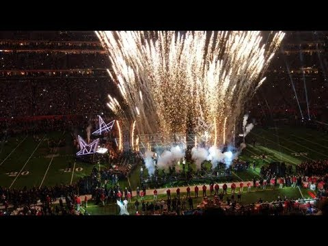 Lady Gaga Super Bowl 2017 Halftime Show (FULL) Best view !!!