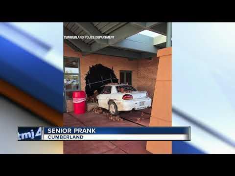 Cumberland High School seniors have epic senior prank