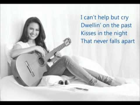 When I close my eyes - Julie Anne San Jose (lyrics)
