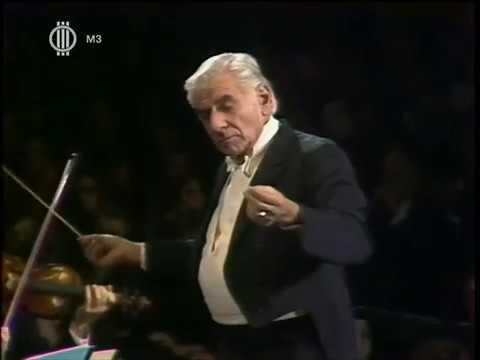 Bernstein in Budapest 1983 (Bartok Bernstein Schumann Brahms) - video -