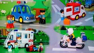 Мультики для детей  все серии Полицейская машина Скорая помощь - машинки для детей . Видео.(Мультики для детей все серии - это новый сборник мультфильмов для детей про машинки все серии подряд. По..., 2016-03-03T14:00:02.000Z)
