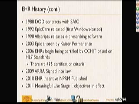 Health Information Technology: A Brief History