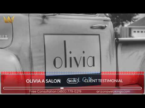 Olivia A Salon - Arizona Web Kings
