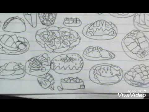 Vẽ đồ ăn (vẽ)