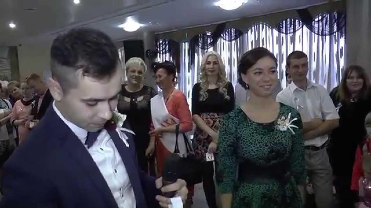 Оригинальное поздравление на свадьбу видео