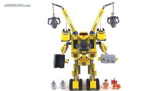 LEGO Movie 70814 Emmet's Construct-O-Mech reviewed! thumbnail