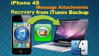Mac iPhone SMS Recovery: How to Restore Message attachments from iPhone 4S iTunes Backup on Mac
