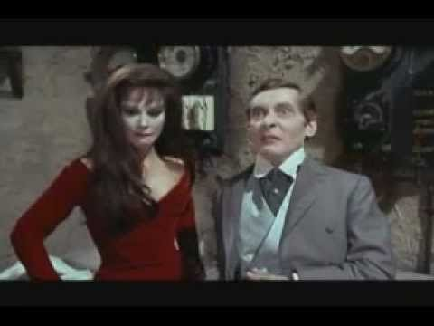 Carry On sCreaming. oK(Fenella Fielding)  REPLACEMENT THERAPY IN RED