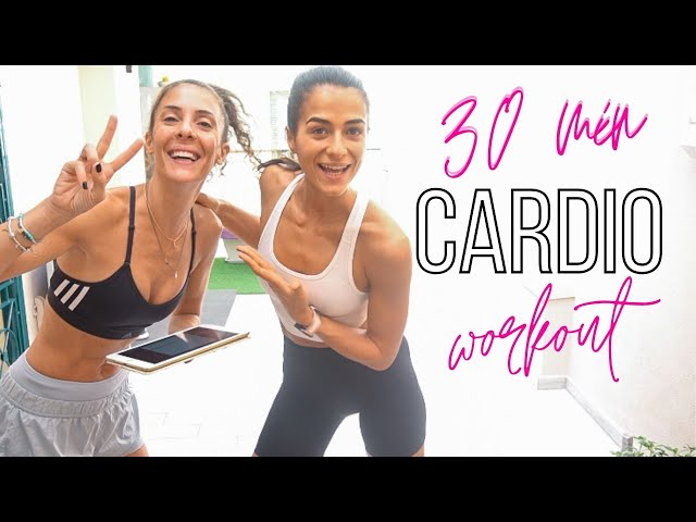 30 min HIIT CARDIO CONDITIONING WORKOUT | Silvia Fascians