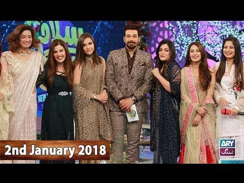 Salam Zindagi With Faysal Qureshi - 2nd January 2018 - Ary Zindagi