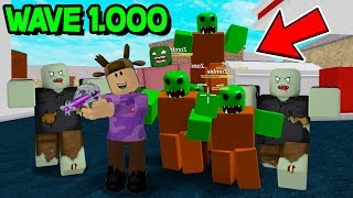 BUYING THE STRONGEST WEAPON! *ROBLOX ZOMBIE ATTACK*