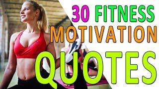 30 Best Fitness Motivation Quotes Workout Inspiration