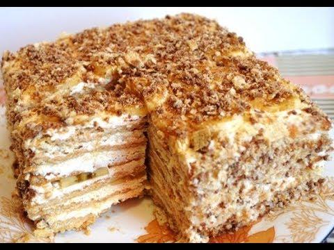 рецепт тортов на скорую руку без выпечки