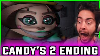 FIVE NIGHTS at CANDY'S 2 ENDING & Secret Animatronic | Five Nights at Candy's 2 Jumpscares Gameplay