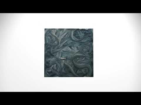 We die in loneliness, oil on plate, 40x40 cm, 2017