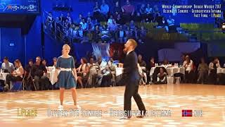 WRRC Boogie Woogie World Championship 2017 Place 1 3 7