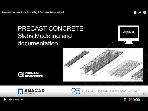 Precast Concrete – Slabs: Modeling & Documentation in Revit