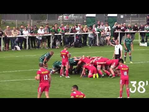 Matchday highlights: London Irish 29-31 Harlequins (Pre-season)
