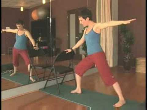 Chair Yoga for Seniors : Chair Yoga for Seniors: Warrior 2 Pose