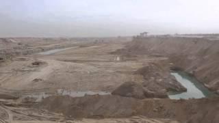 قناة السويس الجديدة مصر: أول موقع حفر فى القناة بعد 120يوم بعدبدء الحفر