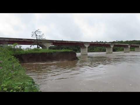 Cheia do rio Poty entre os municipios de São João da Serra e Alo Longá