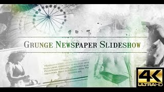 Grunge Newspaper Slideshow