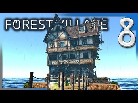 DOCKS, UPGRADED HOUSES, & EXPANSION PLANS! | Forest Village