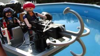 Playmobil bateau pirates chasseurs de tresor