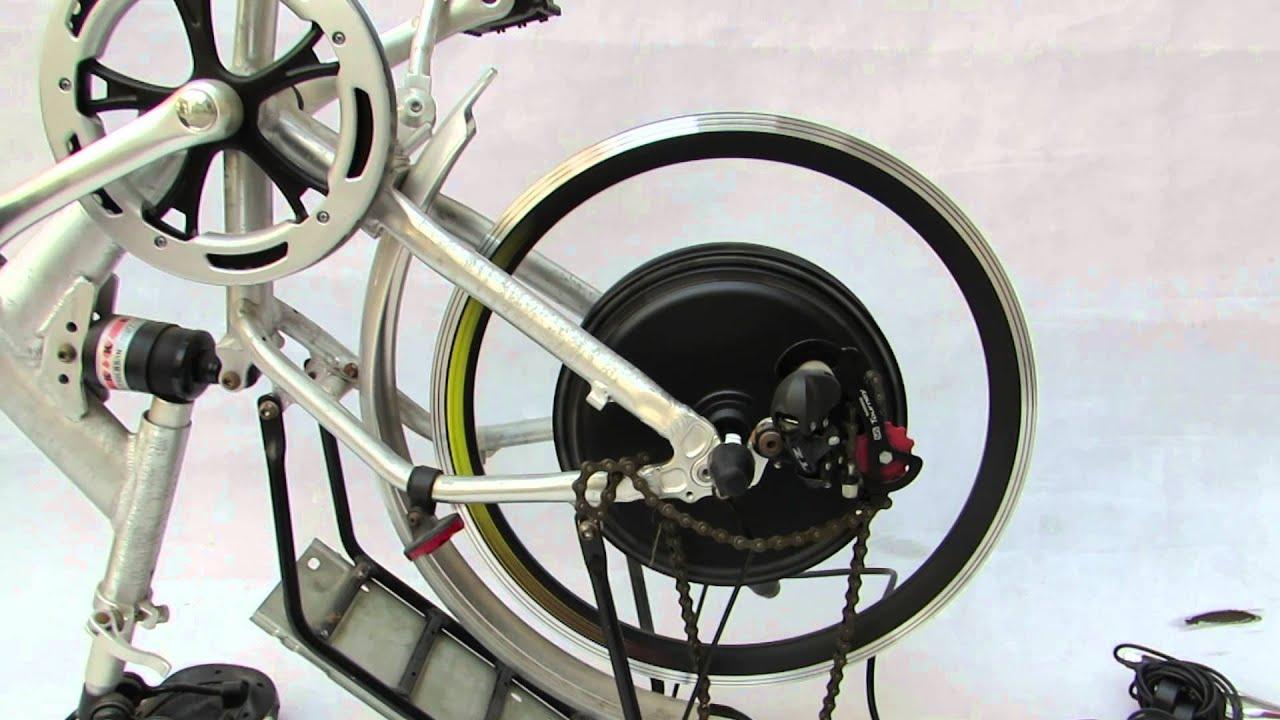 NEW LCD - 20 inch 48V 1000W rear hub motor kit - faster speed