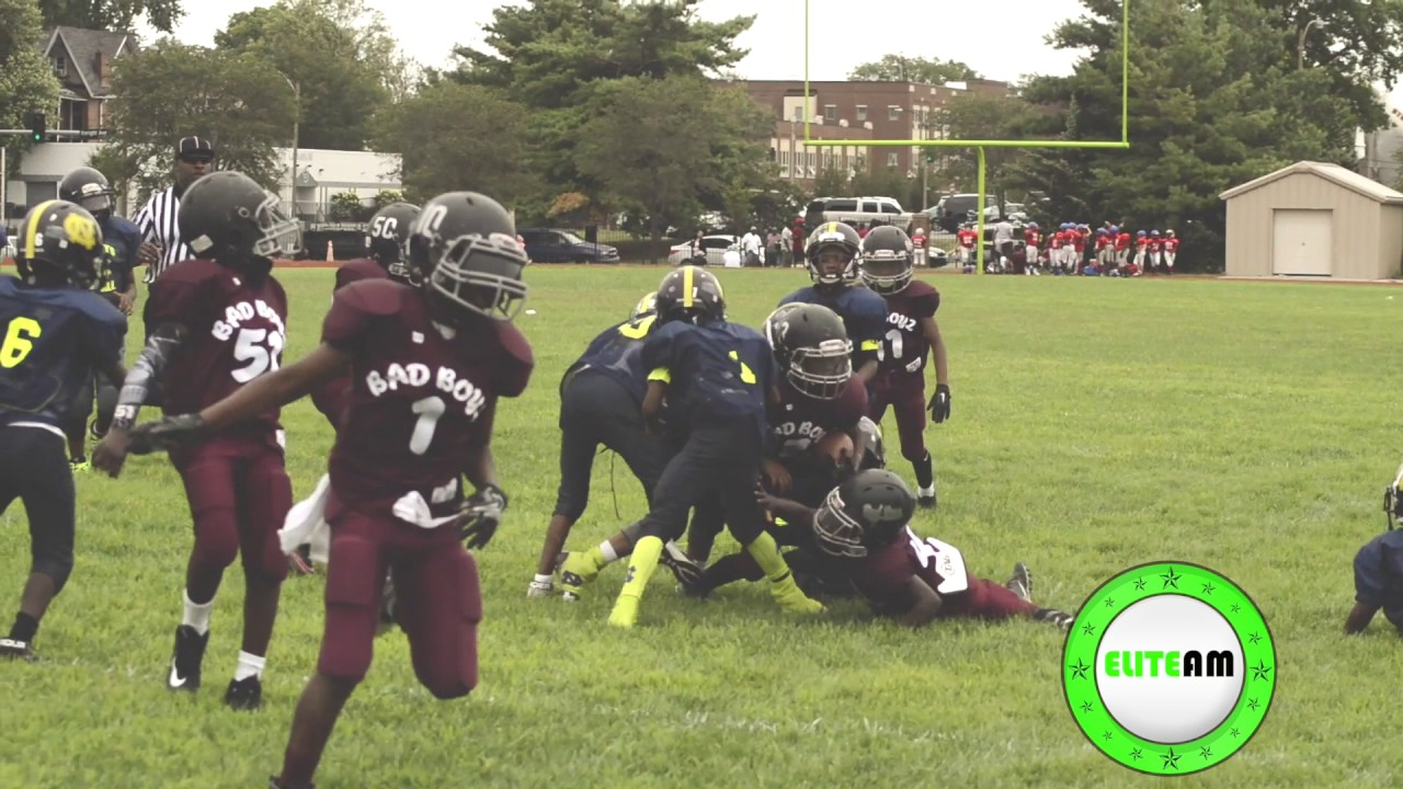 Nationally Ranked City Rec Bad Boyz 9U Football Preseason ...