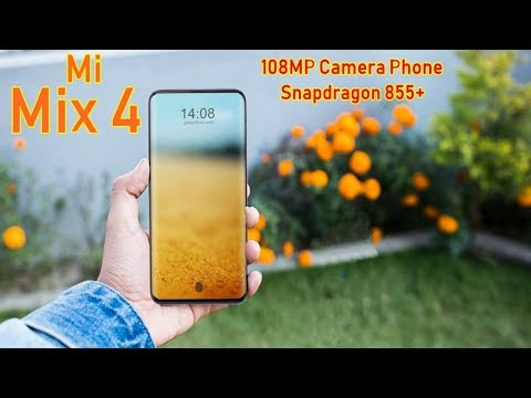 Xiaomi Mi Mix 4 Official Video, Launch Date, 108MP Camera, Features, First Look, Leaks,Trailer,Specs