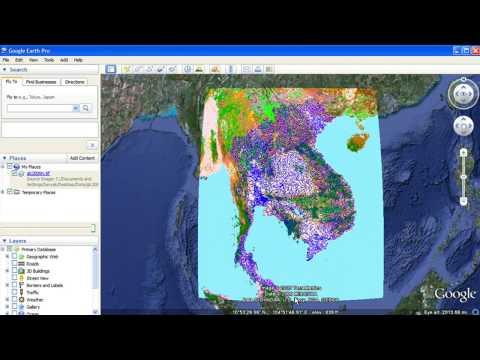 Import GIS data into Google Earth