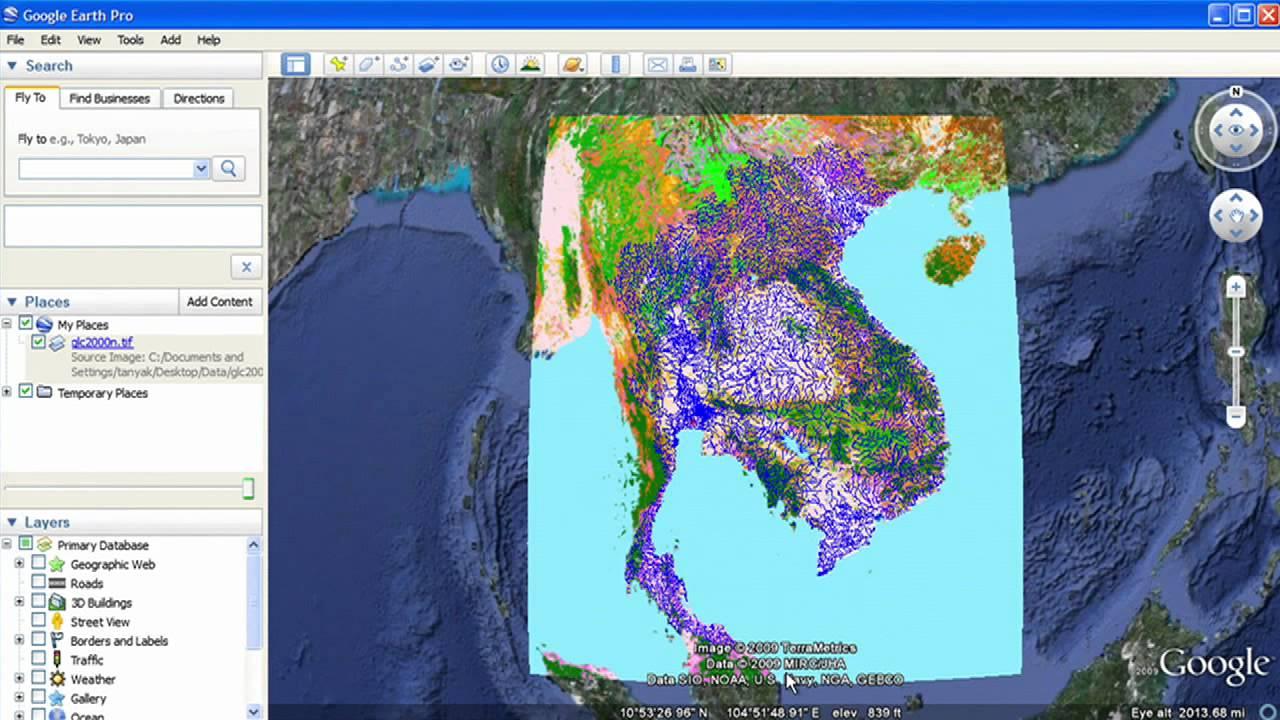 Import GIS data into Google Earth   YouTube
