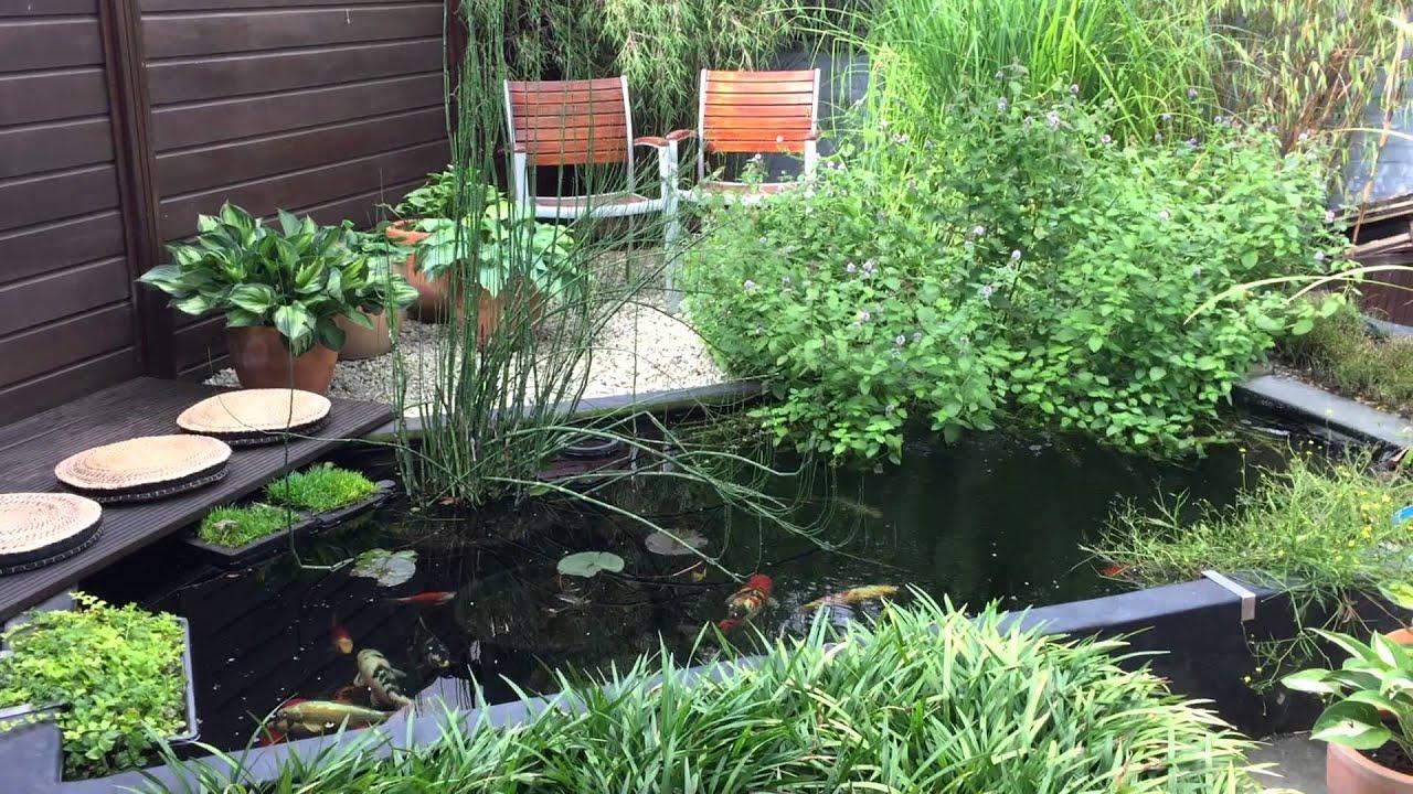 Reusel 2015 kleine tuin maar sfeervol youtube for Kleine vijver tuin