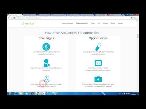 Aencoin - исследовательский центр для медицинских компаний и проектов, связанных с блокчейн