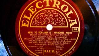 Leoncavallo - Der Bajazzo - Oper auf Schellack von 1930 in 18 Teilen - Teil 18