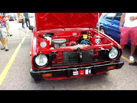 Harrowgate plaza red mazda engine