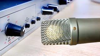 Mikrofon an PC anschließen & Audio-Setup (Rode NT1-A & DBX 286s)