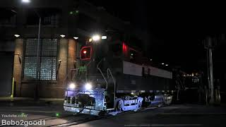 New York & Atlantic Railway Train along the Bushwick Branch (Qns)