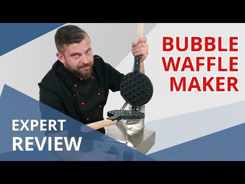 Bubble Waffle Maker - 1,415 W