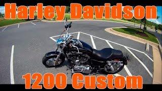Обзор - Тест драйв: 2016 Harley Davidson Sportster 1200 Custom(Тест драйв мини-обзор мотоцикла Harley Davidson Sportster 1200 Custom (Харлей Девидсон Спортстер 1200 Кастом). Первое видео..., 2016-08-21T03:34:49.000Z)