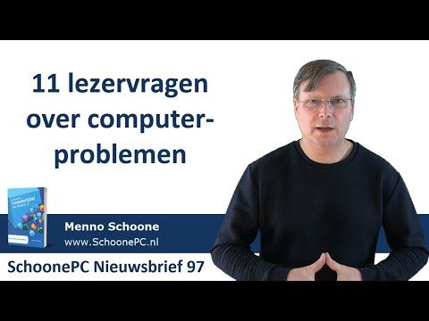 Oplossingen Voor 11 Computerproblemen Van Lezers - Windows 10 (SchoonePC Nieuwsbrief 97)