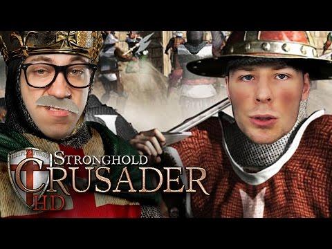 1vs1 gegen Rewi   Stronghold Crusader HD