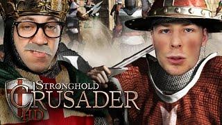 1vs1 gegen Rewi | Stronghold Crusader HD