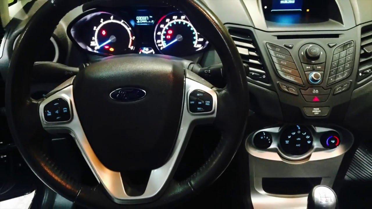 Ford Fiesta Kinetic Se Plus 1 6l Nafta 4 Puertas A 241 O 2013