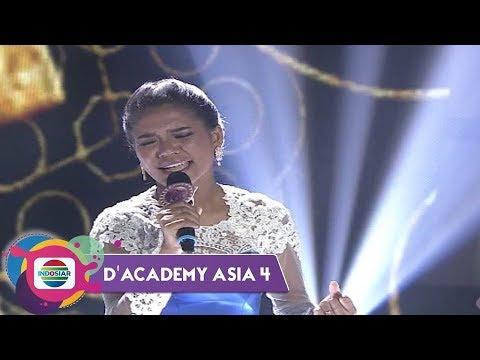 Penuh Penghayatan LITICIA CLOTILDE bawakan lagu BAGAI RANTING KERING | DA Asia 4