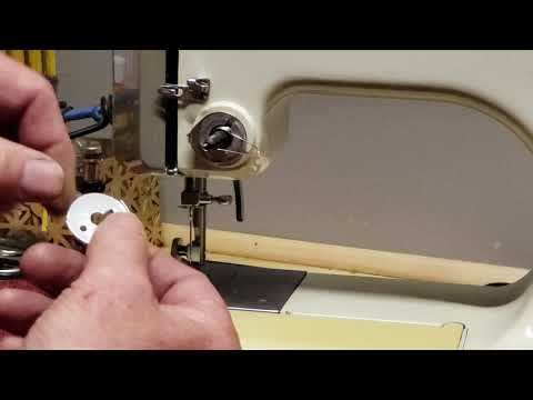 Remove, Clean, Adjust Tension Assembly On Kenmore  Sewing Machine
