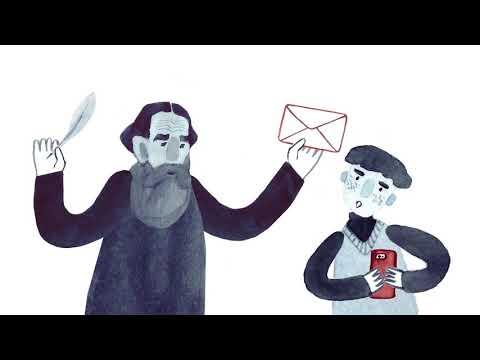Мультфильм про язык