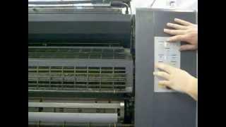 Офсетная печать Speed Master машина станок китайский завод(Так проходят мои суровые рабочие дни в типографии. Будут показаны 2 печатные машины, формата А1 и А2/ Speed Master..., 2013-03-08T05:46:22.000Z)