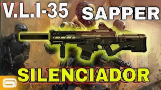 Mc5   Sapper Arma V.L.I-35 com Supressor silenciador Editado/Animaç...